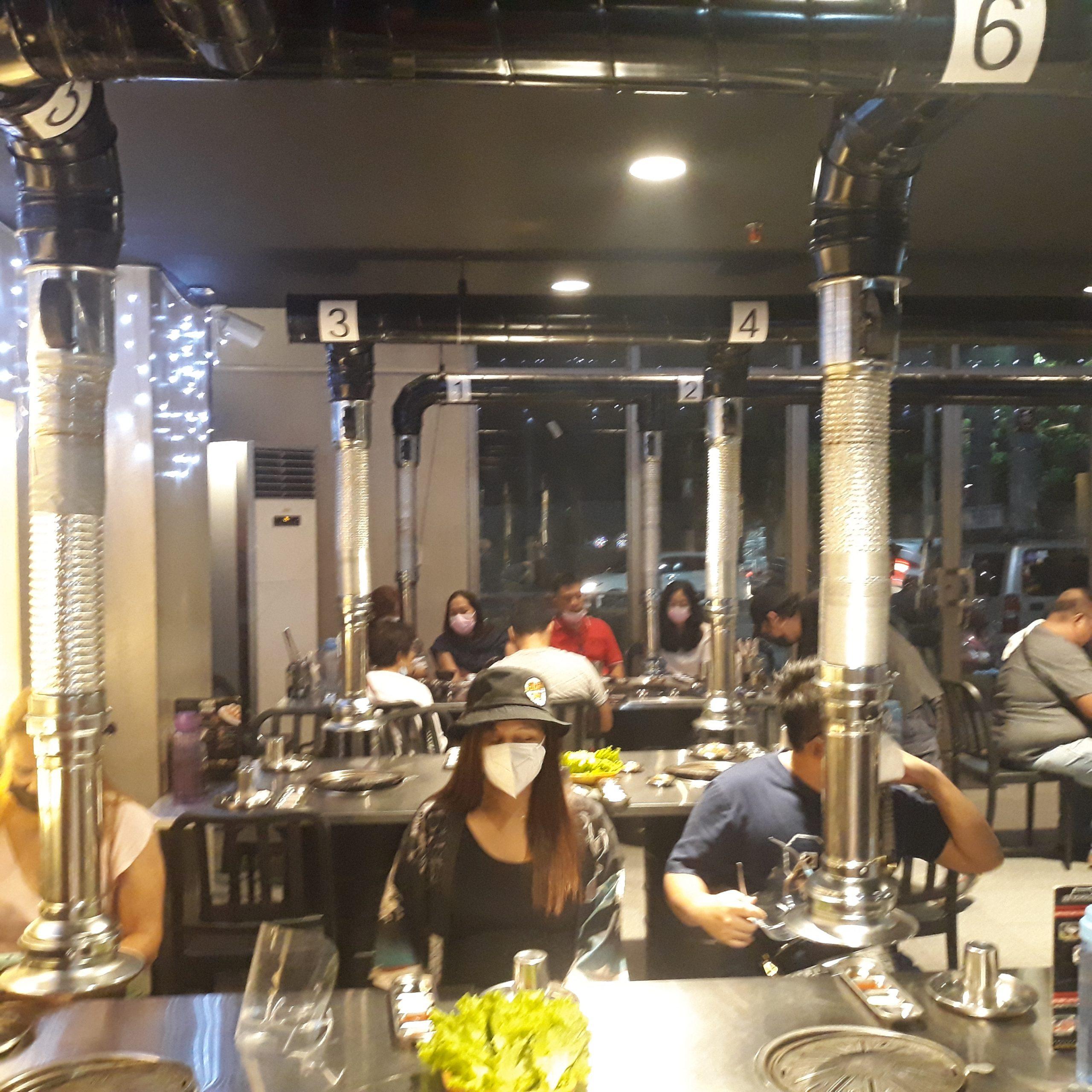 Inside Seoulgyupsal Alabang