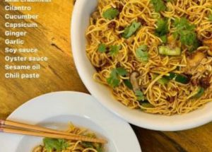 Jazzycooks' Corner: Asian Noodles With Crab Meat