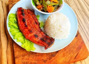 Grilled Pork Belly From Pit Stop Grill