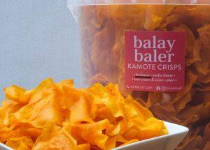 Tasty Sweet Potato Chips From Balay Baler