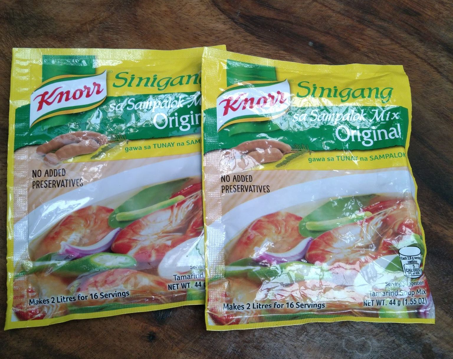 Knorr Sinigang Mix packets