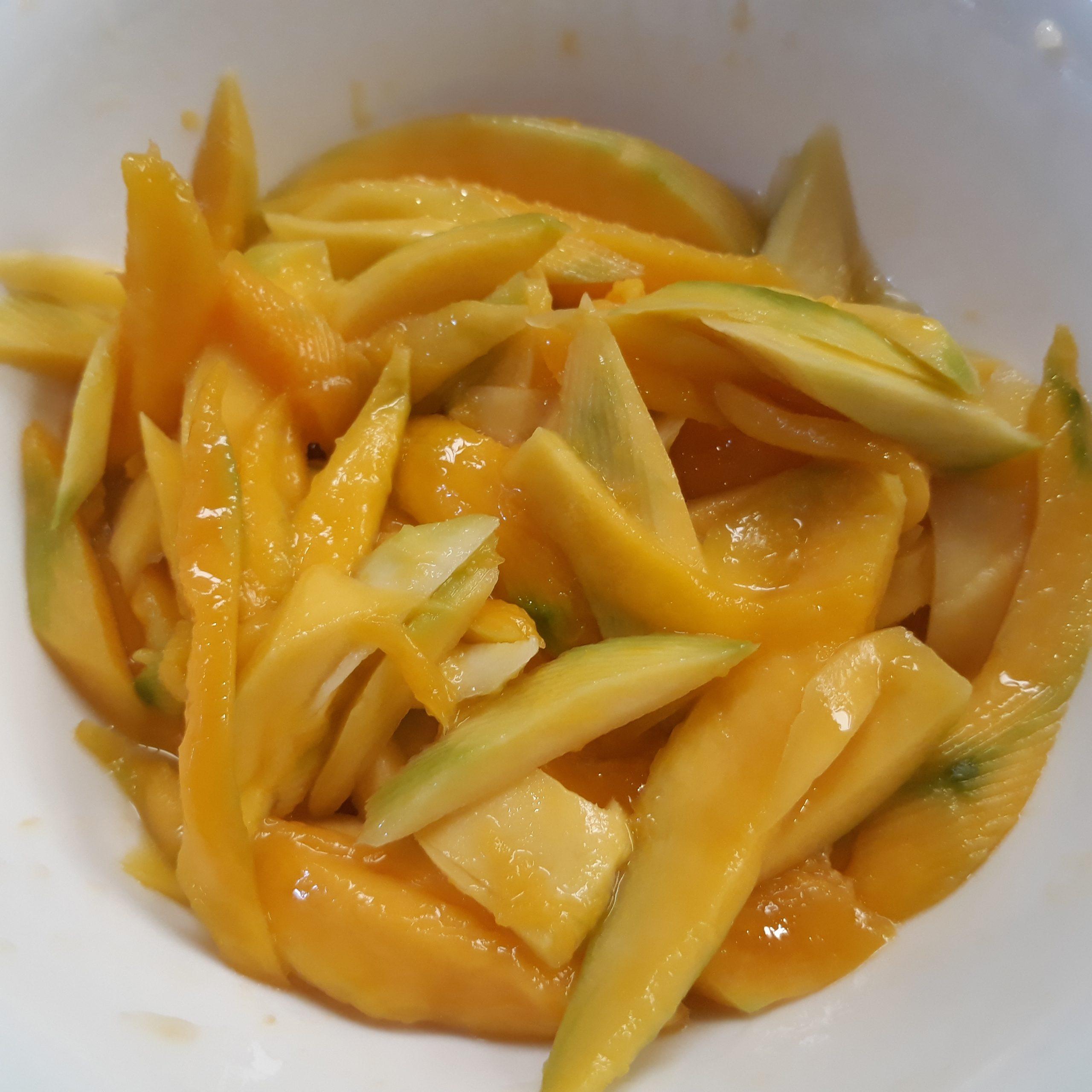 Slices of Indian Mango