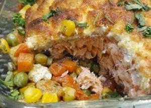 Homemade: Baked Salmon Ala Contis