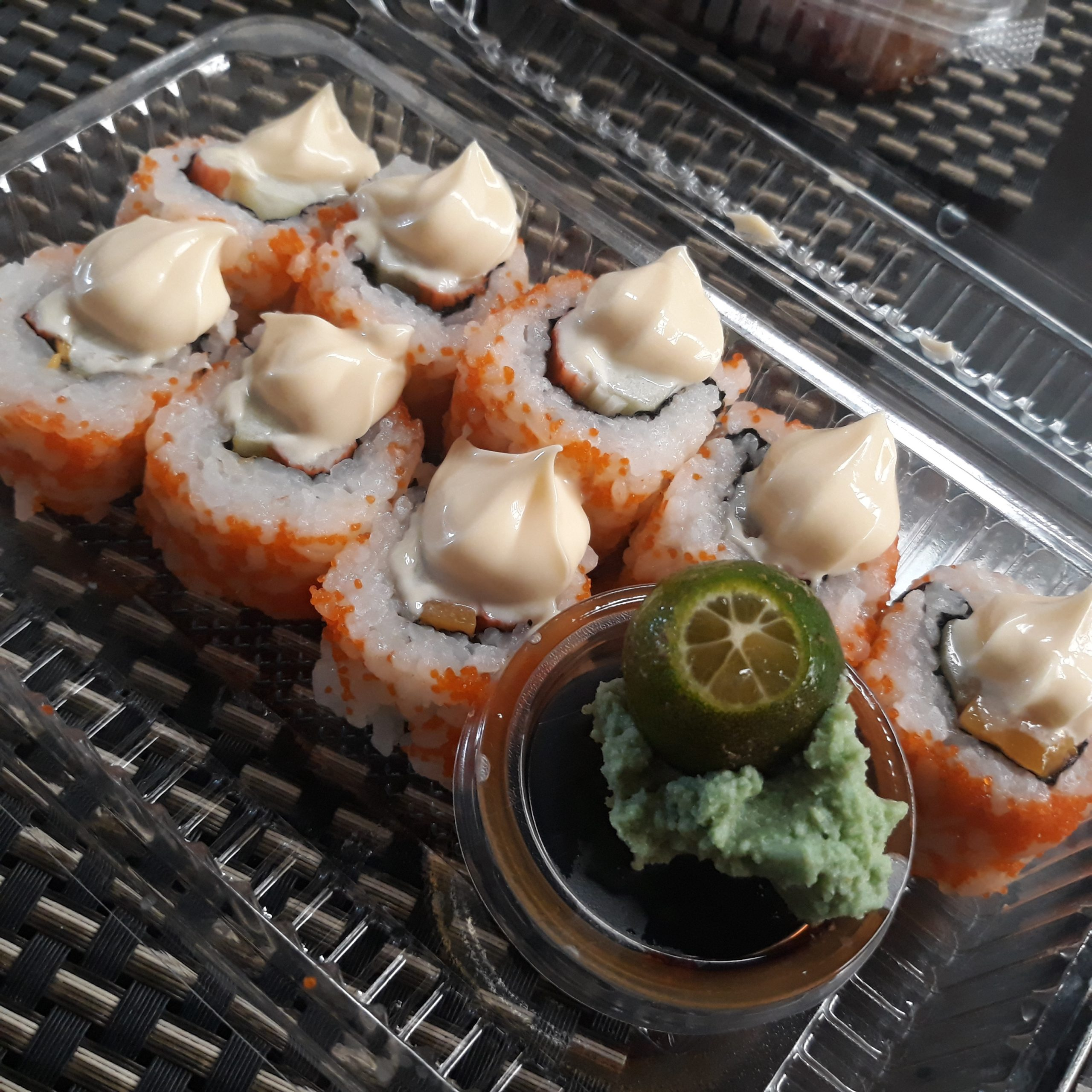 California Maki delivery from Ariake Japanese Restaurant.
