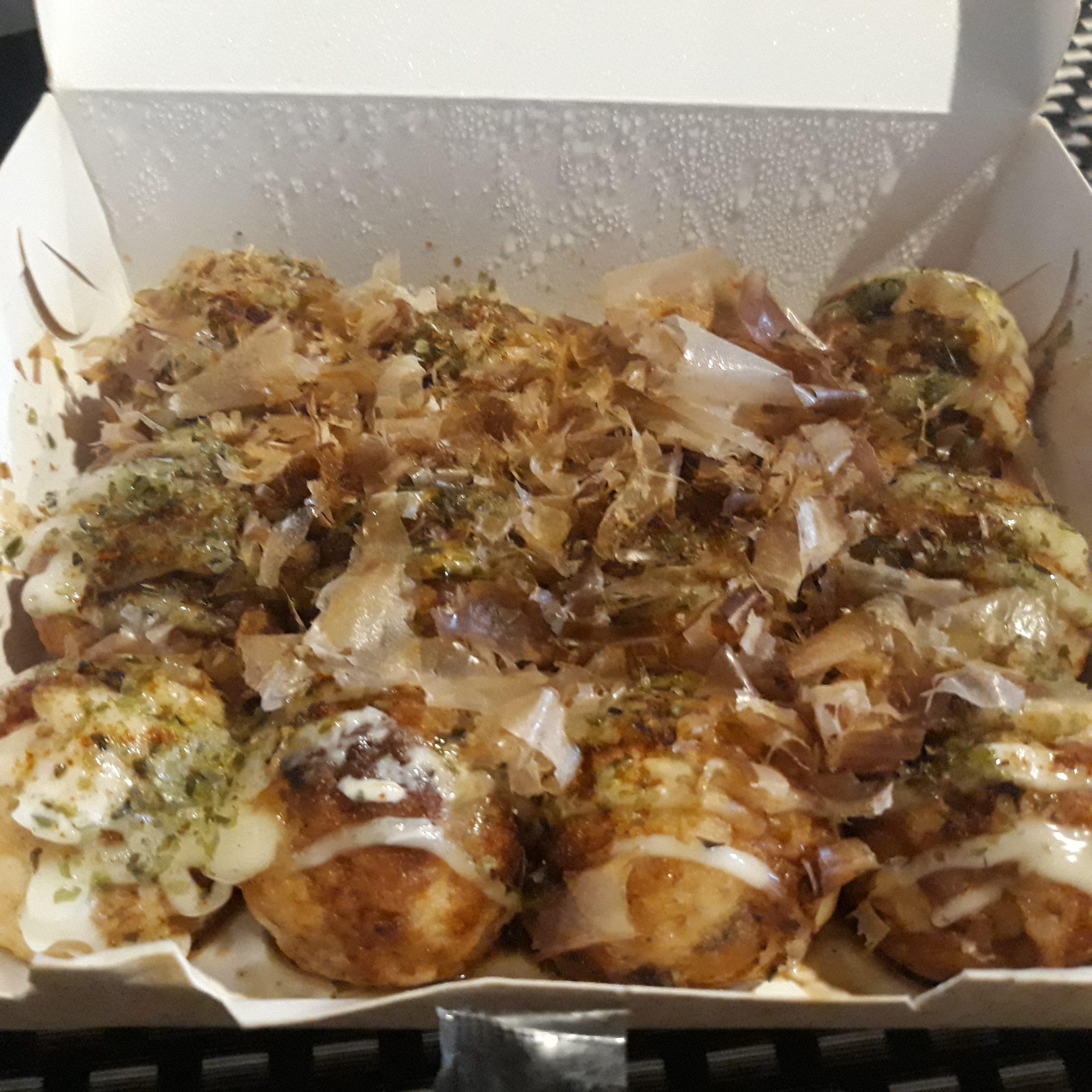 Original flavored takoyaki from Blazing Tentacles.